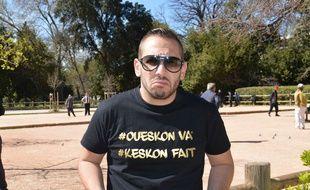 L'humoriste marseillais Bengous.
