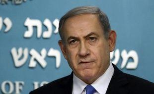 Le Premier ministre israélien Benjamin Netanyahu, le 14 juillet 2015 à Jérusalem