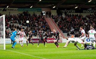 Ajaccio pointe en avant-dernière position de la Ligue 1.