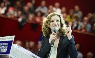 Nathalie Kosciusko-Morizet donnait le 19 mars 2014 son dernier meeting de campagne au Cirque d'Hiver, à Paris.