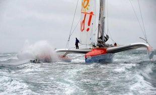 Le navigateur français Thomas Coville, sur Sodebo, a bouclé en 1j 1h 36 min 36 sec la traversée de la Méditerranée, entre Marseille et Carthage (Tunisie) en solitaire et en multicoque.