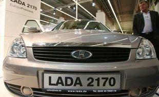 Renault-Nissan a pris le contrôle du russe Avtovaz qui produit les Lada