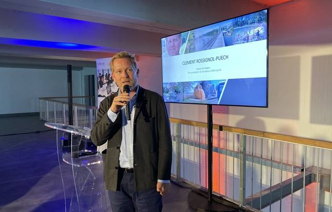 Le maire de Bègles Clément Rossignol Puech a annoncé que la Cité numérique devrait acceuillir 1.500 emplois à terme.