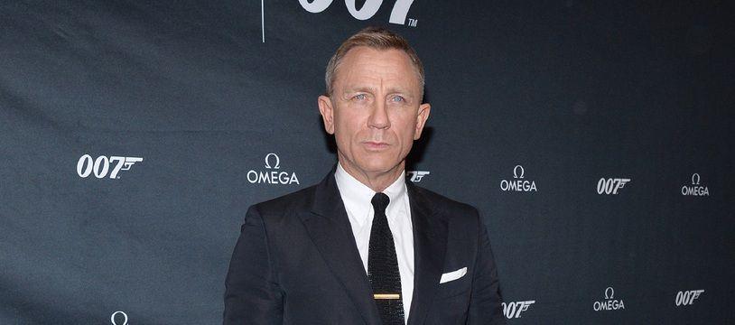Daniel Craig en décembre 2019