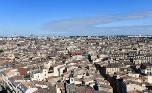 Vue des toits de Bordeaux/UGO AMEZ/SIPA/1907151703