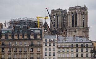 Les travaux de consolidation de l'édifice ont commencé dès mardi après que l'incendie a été totalement éteint.