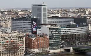 La Maison de la radio, siège de Radio France, à Paris, en mars 2015.