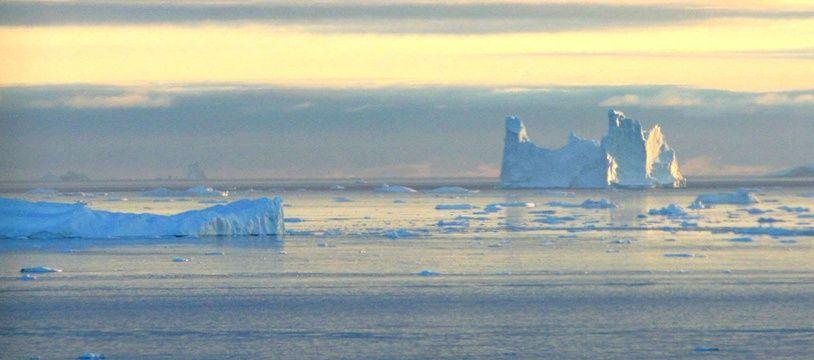 La fonte des glaces s'accélère au Groenland