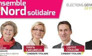 Copie de la page Facebook des candidats PS