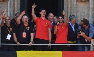 Les Belges acclamés après leur retour de Russie