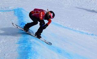 Julia Pereira est championne d'Europe de snowboard cross.