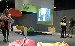 L'expo tourne autour de la vidéo.