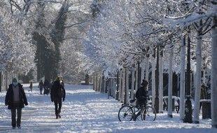 Il a déjà neigé sur l'Est de la France ces derniers jours, comme ici à Strasbourg.
