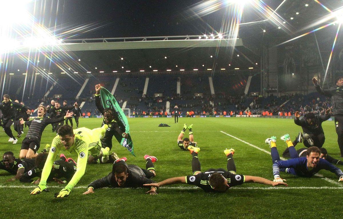 Les joueurs de Chelsea fêtent leur nouveau titre – SIPA