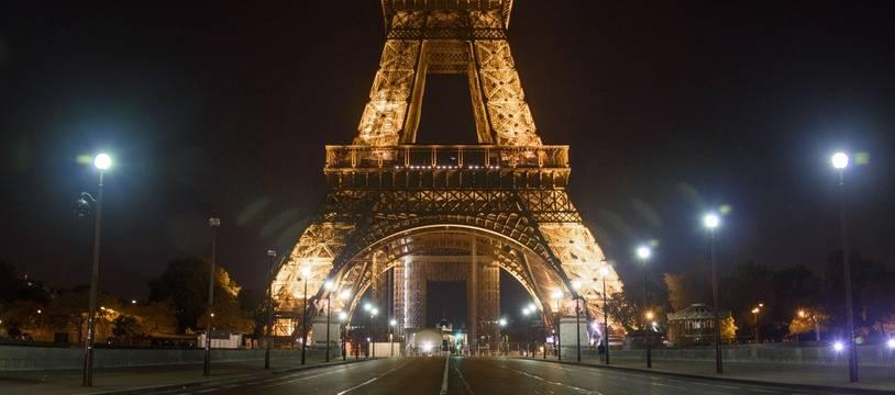 La Tour Eiffel, le 18 octobre.
