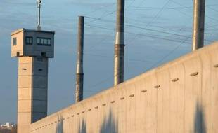 Vue extérieure en date du 28 novembre 2013 de la prison de Nantes