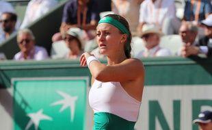 Kristina Mladenovic, le 30 mai 2017.