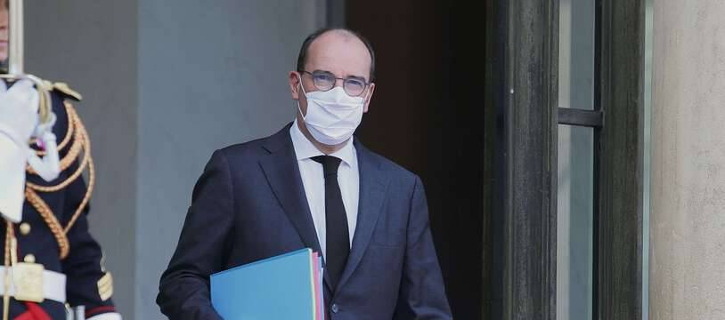 Jean Castex à la sortie du Conseil des ministres, le 7 octobre 2020.