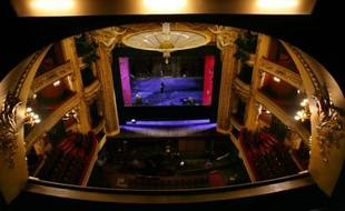 L'Opéra comique de Paris le 3 décembre 2007
