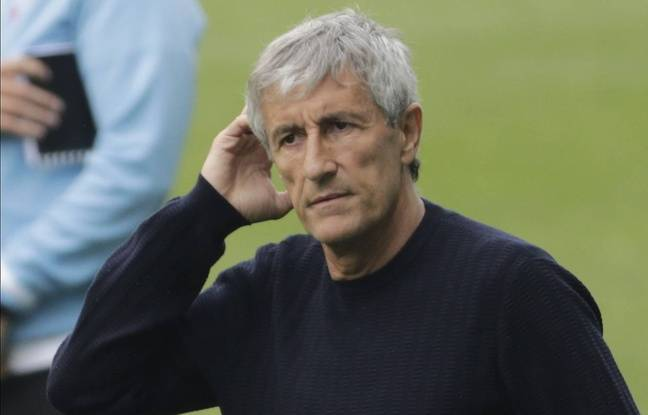 Ligue des champions : « Ca ne m'a pas traversé l'esprit », Quique Setien ne pense pas au licenciement avant Barça-Naples