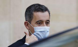 Le ministre de l'Intérieur Gérald Darmanin à Paris.