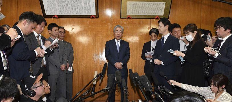 Tsunekazu Takeda a annoncé son futur retrait de son poste de président du Comité olympique japonais.