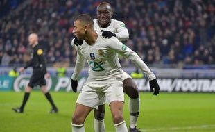 Kylian Mbappé a clairement fait la différence en prolongation en offrant sur un plateau deux buts à Moussa Diaby (photo) puis à Edinson Cavani. ROMAIN LAFABREGUE