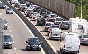 Bouchon sur A6 en direction de Lyon