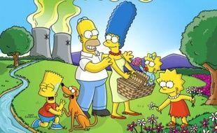 Homer, Marge, Barth, et Lisa sont les héros des « Simpson »