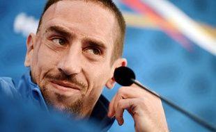 Franck Ribéry, le 11 octobre 2012, à Clairefontaine.