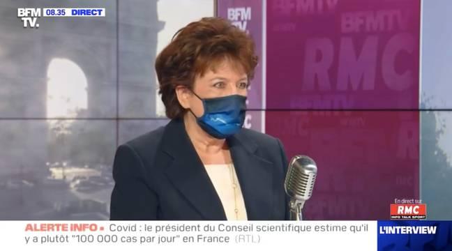 Roselyne Bachelot se serait levée aux César comme Adèle Haenel