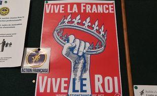 Des militants de l'Action française ont été placés en garde à vue à Saint-Etienne.