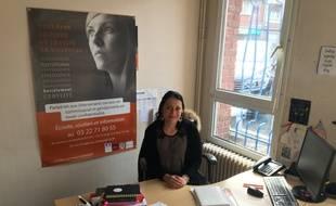 Christine Defonte est assistante sociale au commissariat d'Amiens depuis 2014