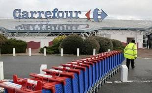 Un magasin Carrefour en France