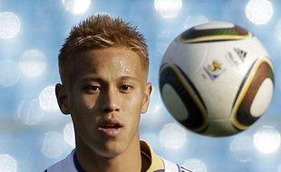 L'attaquant japonais Keisuke Honda, à Prétoria, le 28 juin 2010.