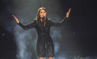 Florina, lors de la demi-finale de l'émission «Destination Eurovision».