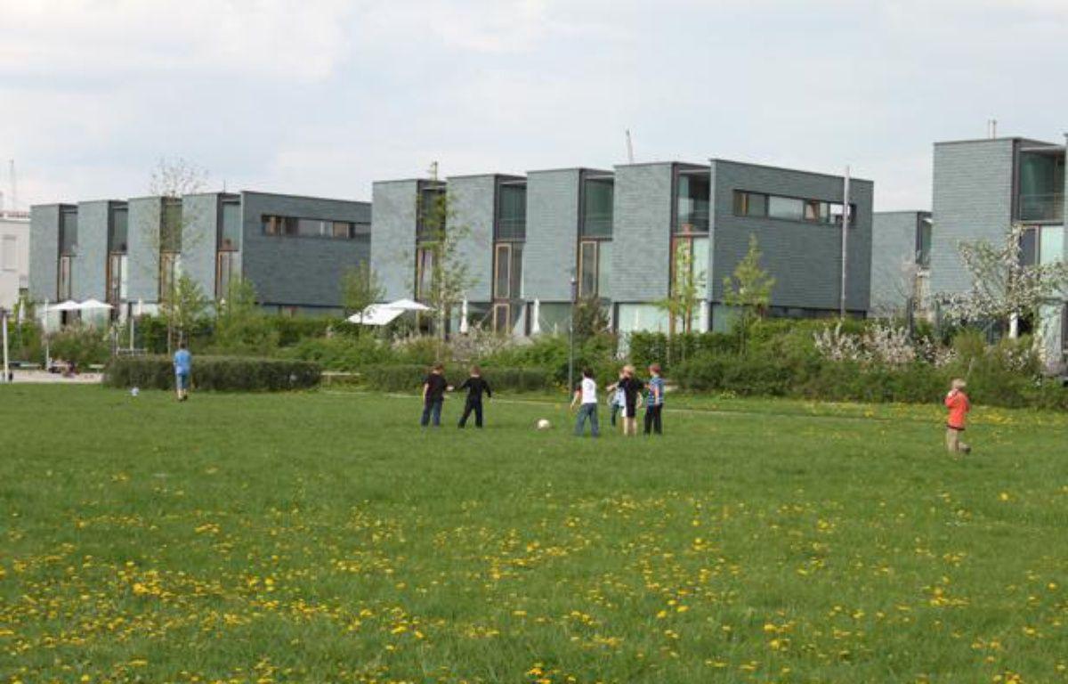 Le nouveau quartier de Messestadt Riem, à Munich, le 6 mai 2013. – A.Chauvet / 20 Minutes