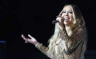 La chanteuse Mariah Carey à Dubaï le 19 octobre 2020.