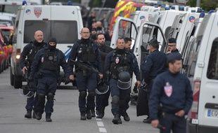 Déploiement à Blagnac le 7 mai 2019 lors de la prise d'otages du bar-tabac.