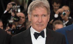 Harrison Ford, au Festival de Cannes, le 18 mai 2014.