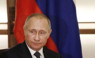 Le président russe Vladimir Poutine, le 15 décembre 2016 au Japon