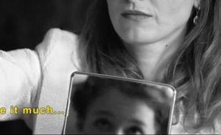 Capture d'écran du court-métrage de Lisa Azuelos, «14 millions de cris», contre les mariages forcés.