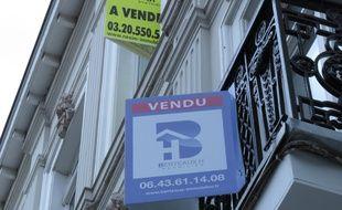 Illustration d'immeubles et appartements à vendre