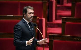 Christophe Castaner, ministre de l'Intérieur, à l'Assemblée nationale, le 7 avril 2020. (photo d'illustration)