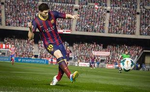 Lionel Messi, quadruple ballon d'or, sera sur la pochette de «Fifa 15».