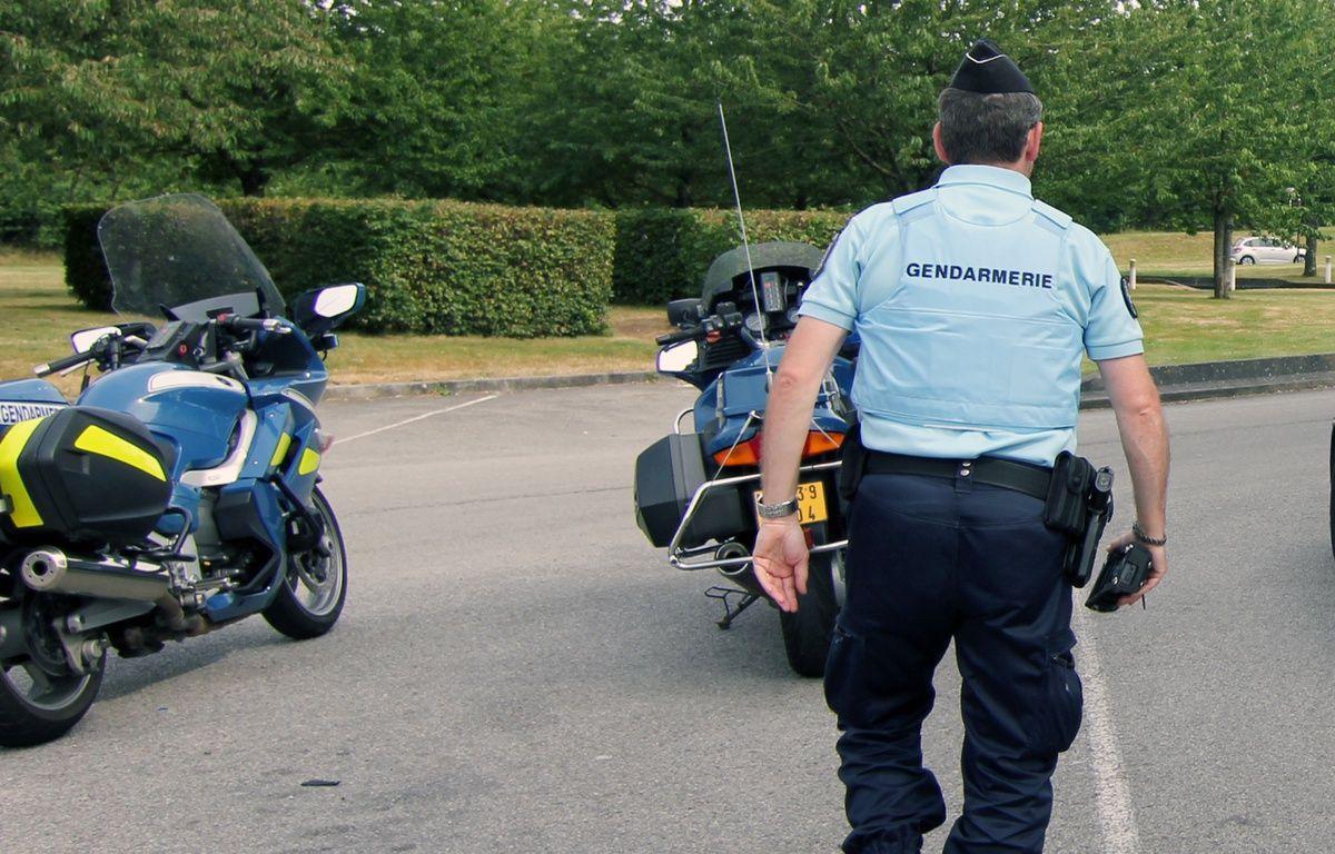 Illustration d'un gendarme en intervention. Ici près de Rennes. – C. Allain / APEI / 20 Minutes