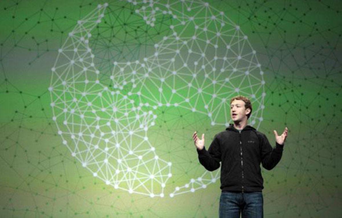 Mark Zuckerberg, patron de Facebook, le 21 mai 2010 – Marcio Jose Sanchez/AP/SIPA