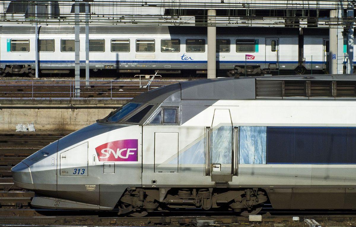 Un TGV (illustration). – Baleydier/SIPA