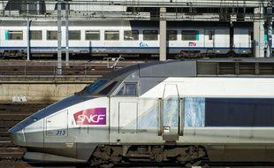Un TGV (illustration).