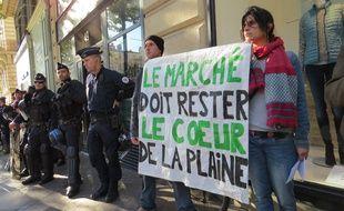 Les opposants au projet de rénovation de la Plaine